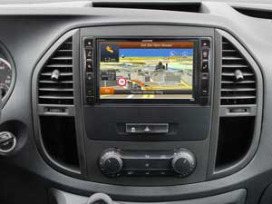 Alpine Style | Navigation System for Mercedes Vito 447 - X800D-V447