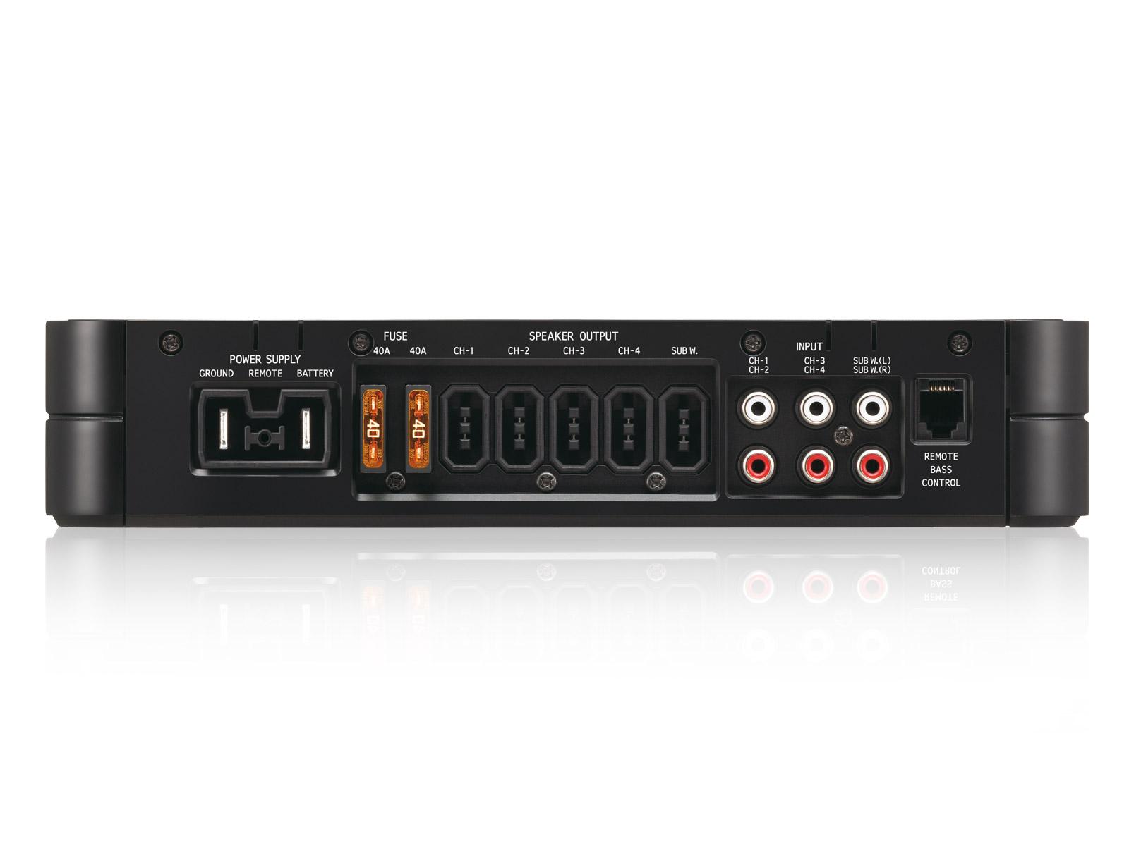 4 channel mono digital power amplifier alpine pdx v9