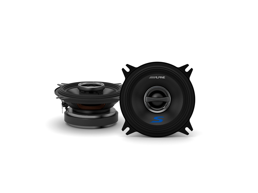 Quot cm coaxial way s series speakers alpine
