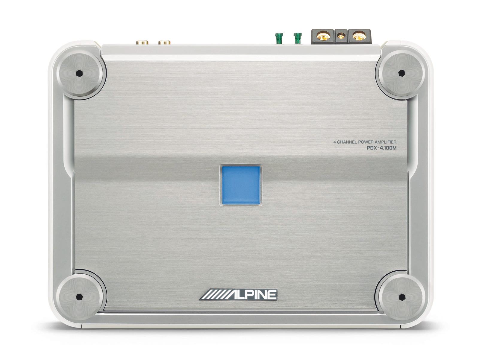 Marine 4 Channel Digital Amplifier - Alpine - PDX-4 100M