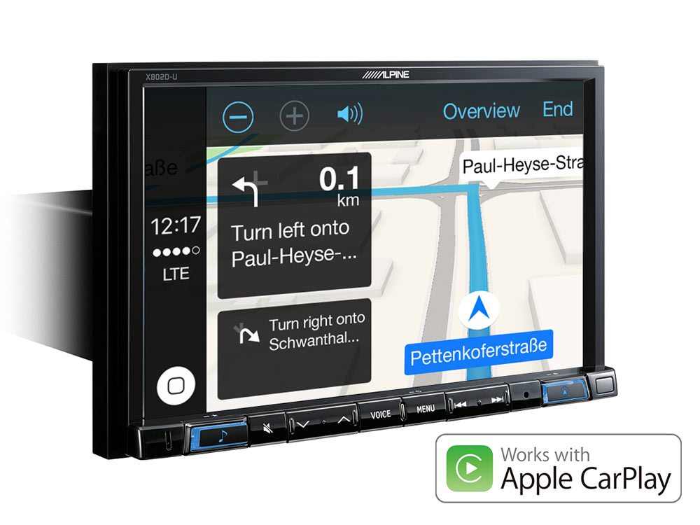 "8"" Navigation with TomTom maps including trucking feature"