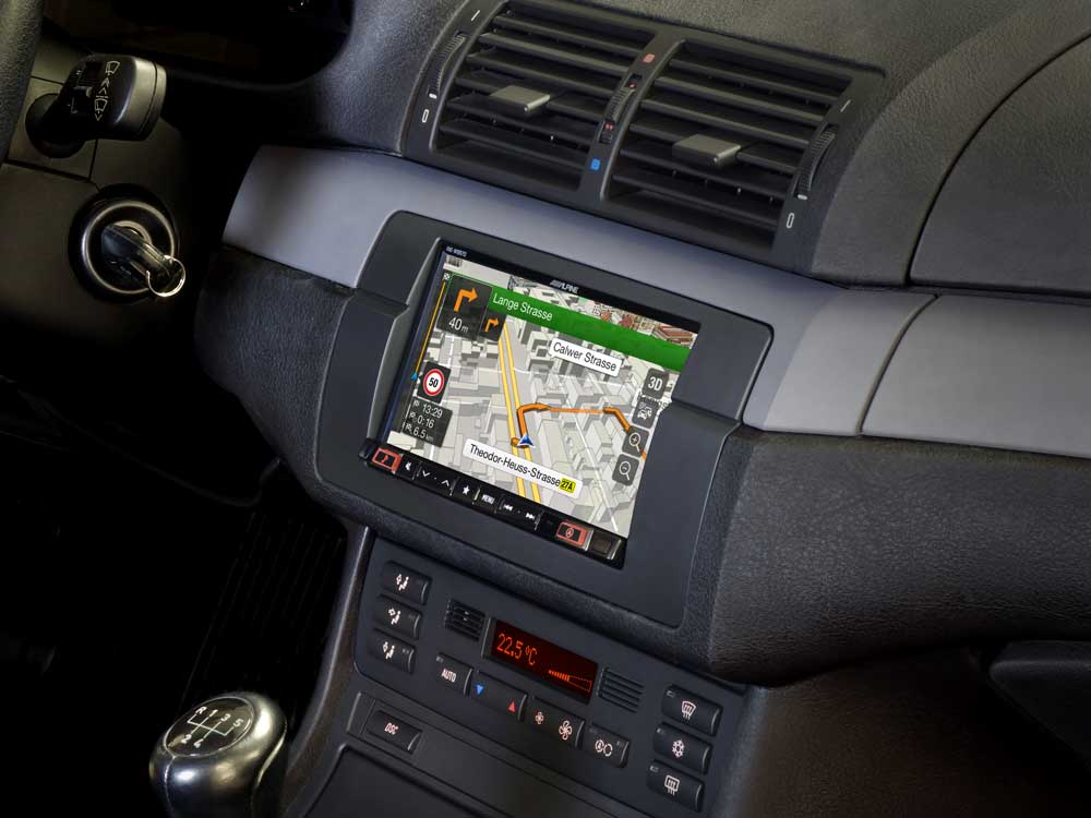 7 Inch Navigation System Designed For Bmw 3 Series E46 Alpine