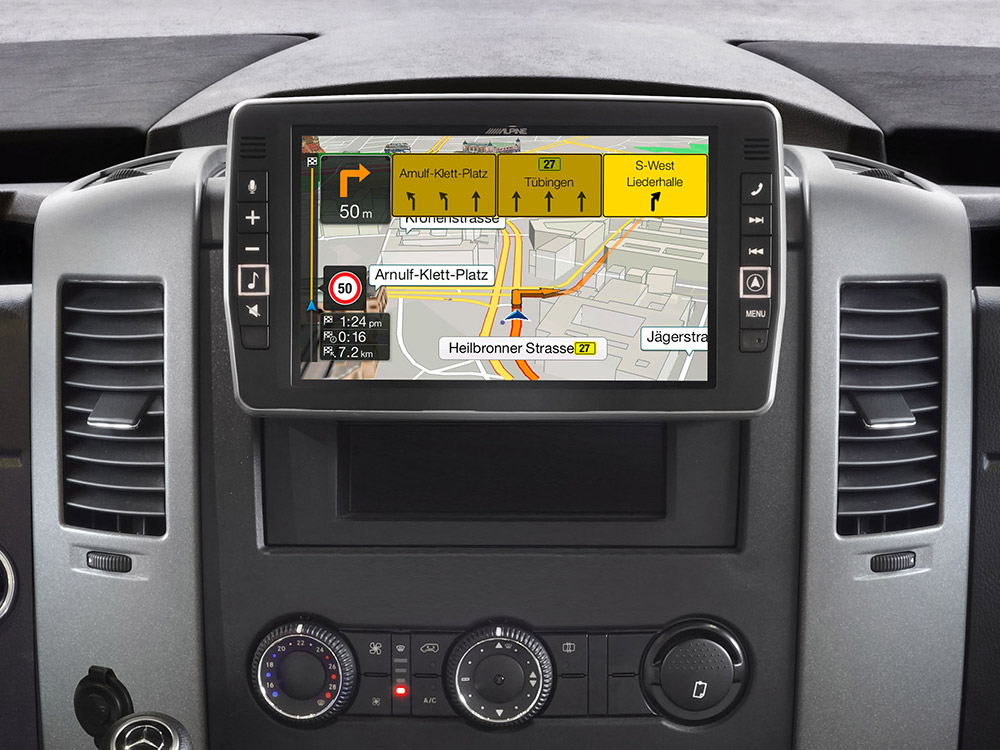 "9"" Touch Screen Navigation for Mercedes Sprinter, compatible with"