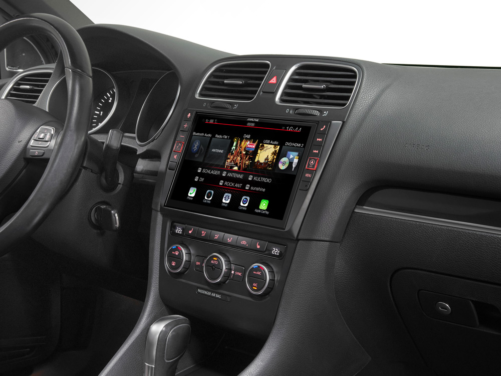 """9"""" Touch Screen Navigation for Volkswagen Golf 6 with TomTom"""
