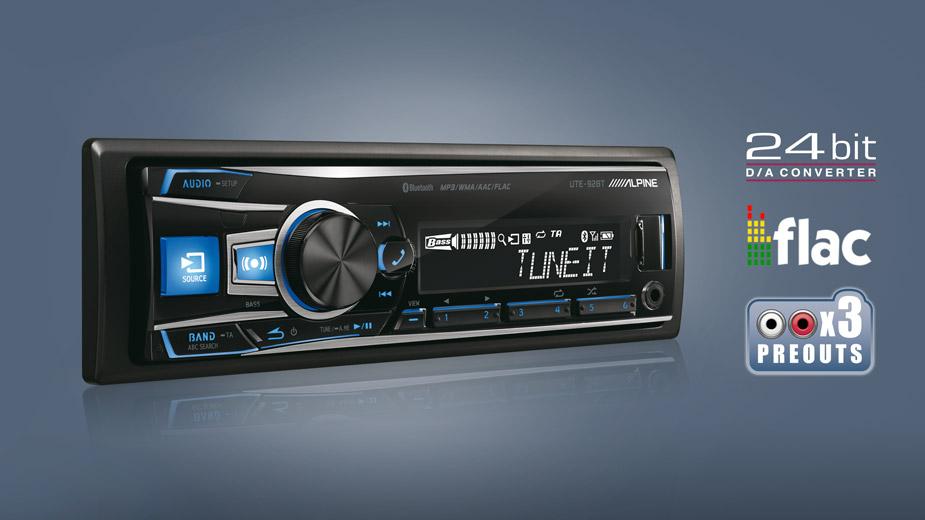 Digital Media Receiver With Bluetooth - Alpine