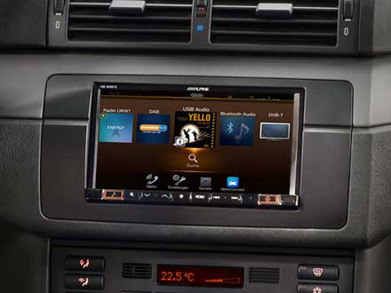 7-inch navigation system designed for BMW 3-series E46 - Alpine ...
