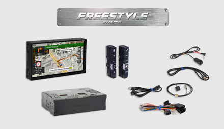 All parts included - Freestyle Navigation System X703D-F