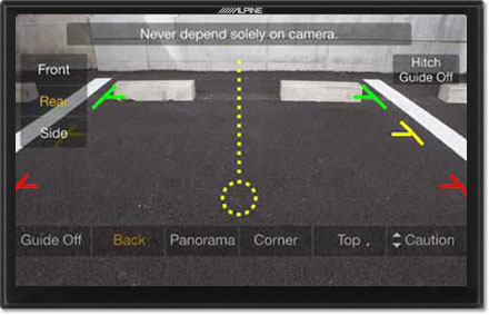 Parking assistance - Freestyle Navigation System X901D-F