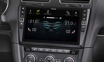 Golf 6 - Air Condition Display - X901D-G6