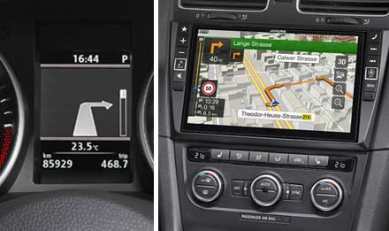 Golf 6 - Navi SubDisplay - X901D-G6