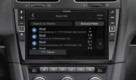 Golf 6 - Navigation - Points of Interest  - X902D-G6