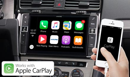 Golf 7 - Works with Apple CarPlay - X902D-G7